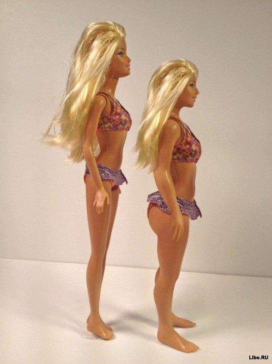 Как выглядела бы Барби с фигурой обычной женщины