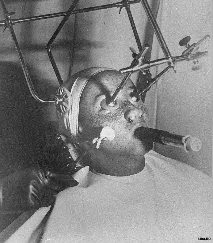 Процедуры для красоты 100 лет назад