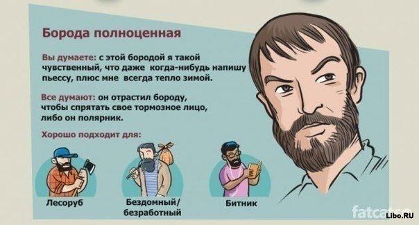 О чем говорит твоя борода
