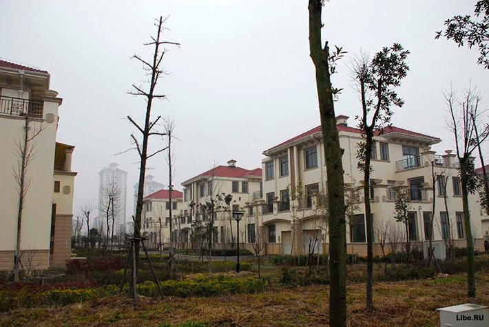 Города-призраки в Китае
