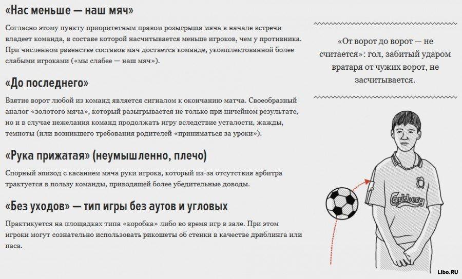 Философия дворового футбола