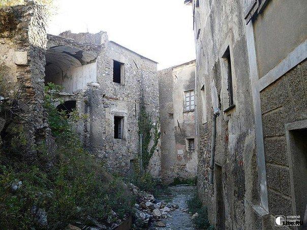 Итальянские города-призраки