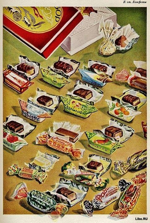 Советские вкусности